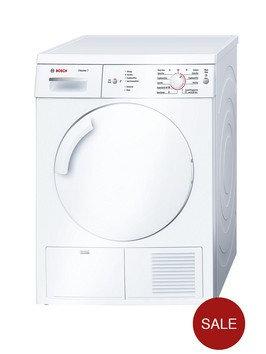 Bosch WTE84106GB Condenser Dryer, 7kg