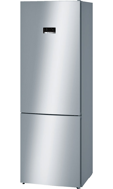 Bosch KGN49XL30G 435L A++ Freestanding Fridge Freezer - Stainless Steel -