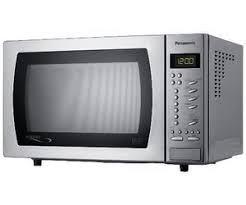 PANASONIC NNST479SB Compact Solo Microwave - Stainless Steel