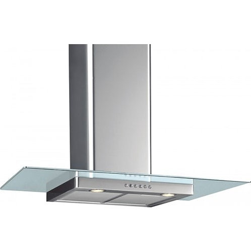 Blanco BW1161C90 Flat Glass Hood Stainless Steel