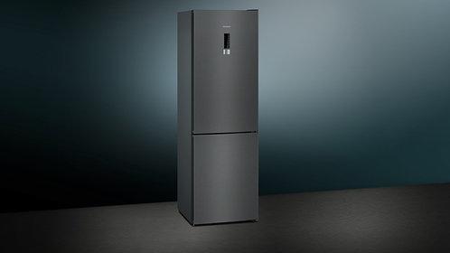 Siemens IQ-300 KG36NXX3AG 60/40 Frost Free Fridge Freezer - Black Steel - A++ Ra