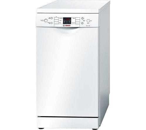BOSCH SPS53M02GB Serie 6 Slimline Dishwasher - White