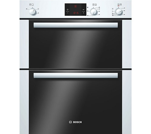 BOSCH Avantixx HBN13B221B Electric Built-under Double Oven - White