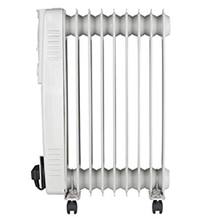 Pifco P43004Y 2.0kW Oil-Filled Radiator 3 Power Settings White