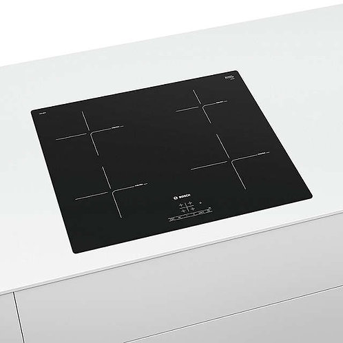 BOSCH Serie 4 PUE611BB1E Electric Induction Hob - Black