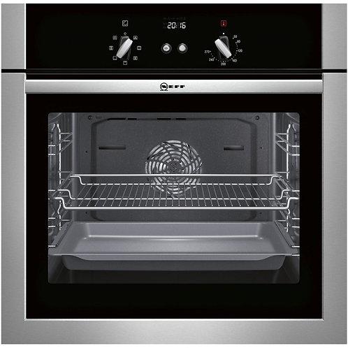 Neff B14M42N5GB stainless steel Classic electric single oven