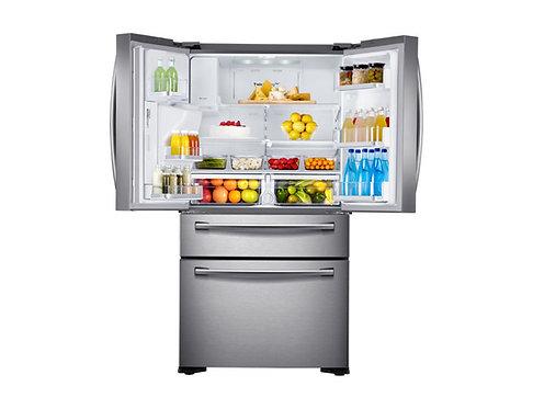Samsung RF24R7201SR/EU American-Style Fridge Freezer, A+ Energy Rating, Real Sta
