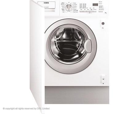 AEG L61470BI Lavamat  Integrated 7Kg Washing Machine with 1400 rpm