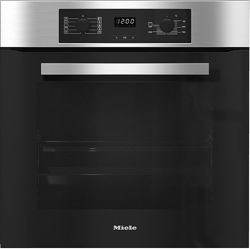 Miele H2265BP CL/ST Built-In Single Electric Oven in Clean Steel