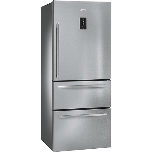 SMEG FT41BXE Fridge-Freezer with one door & two drawers