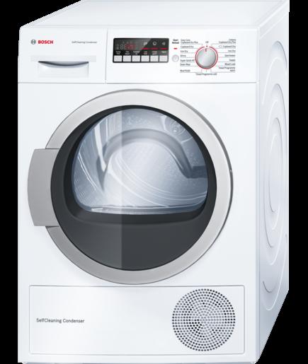 Bosch WTR85V21GB 8kg Heat Pump Condenser Tumble Dryer - WHITE