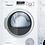 Thumbnail: Bosch WTW85231GB 8kg Serie 4 Heat Pump Condenser Tumble Dryer - WHITE