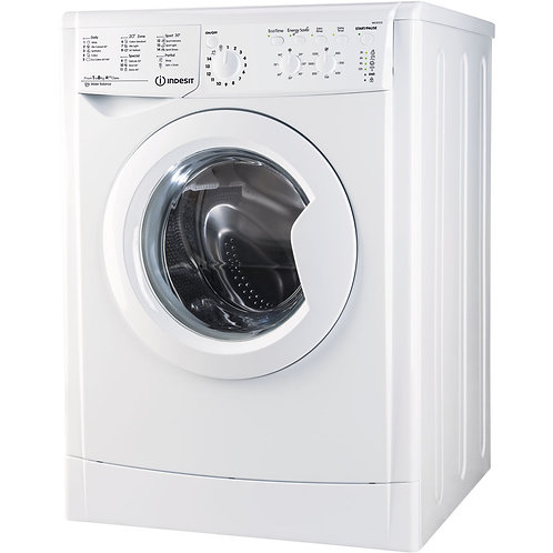 Indesit Ecotime IWC81252 ECO 8kg 1200 Spin Washing Machine In White A++
