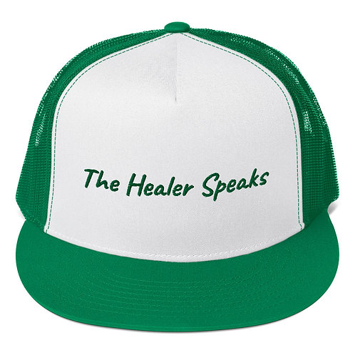 Cap: The Healer Speaks 2 GREEN