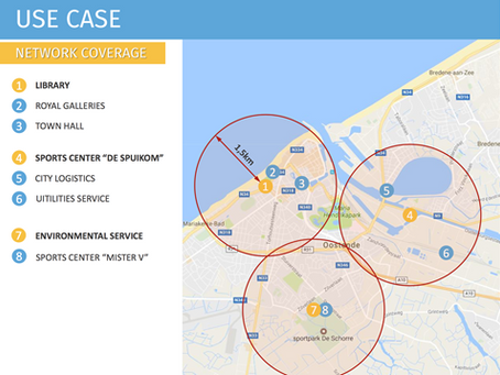 Smart City Oostende: Datalogging via LPWAN