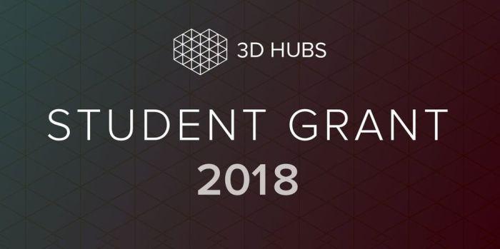 3D Hubs Student Grant 2018