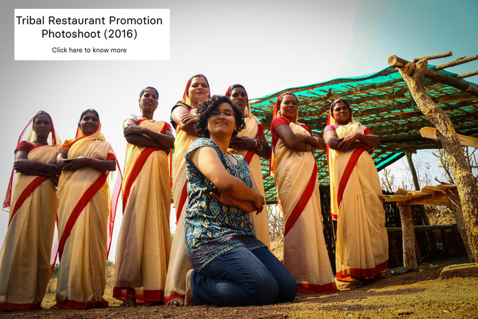 Tribal Restaurant Photoshoot