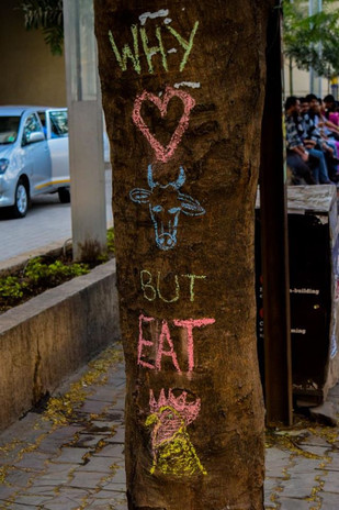Chalktivism in Pune