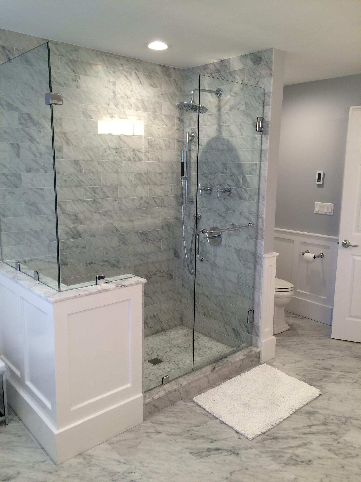 Carrara shower