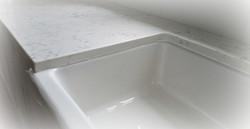 Carrara Quartz Kitchen Countertop