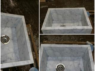 Custom Stone Slab Sinks