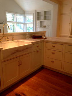 After:Imperial Danby Marble Kitchen