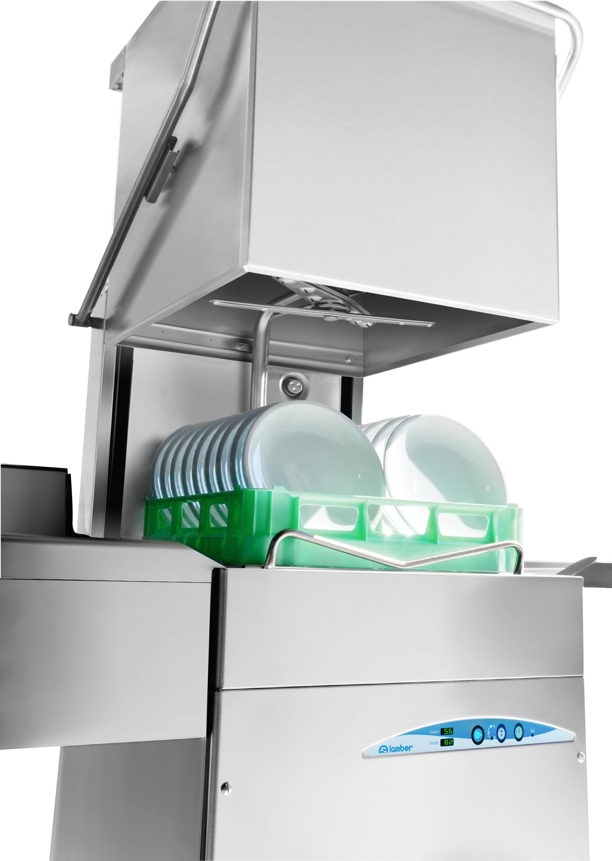 Lave-vaisselle à capot