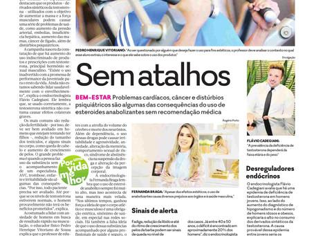 Matéria no jornal O Popular
