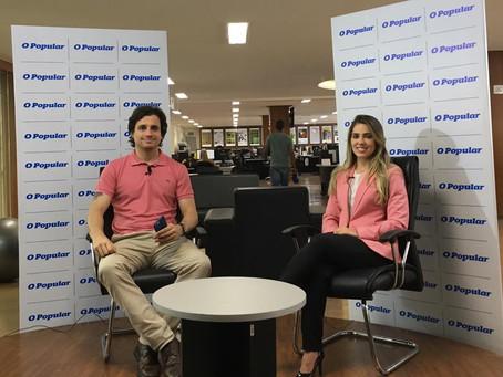 Live no Facebook do jornal O Popular