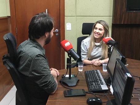 Entrevista na Rádio Bandeirantes