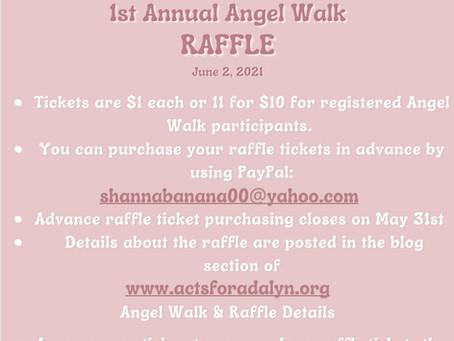 Angel Walk & Raffle Details