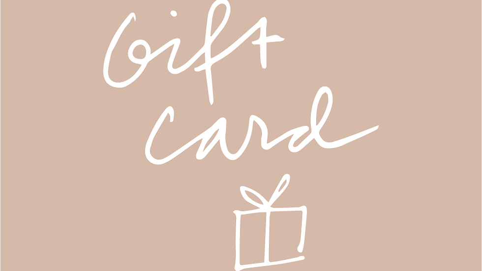 Digital Gift Card - Goosetuned Store