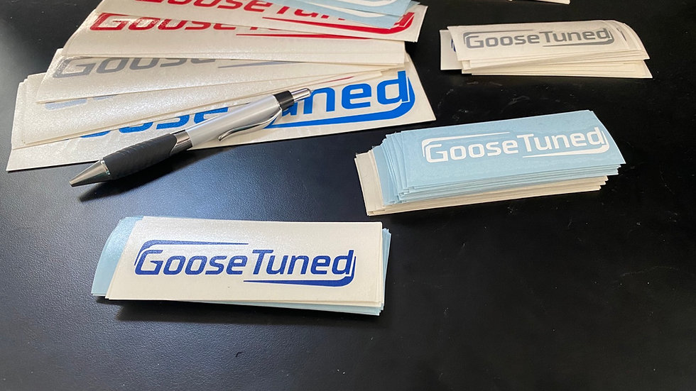 GooseTuned Decal