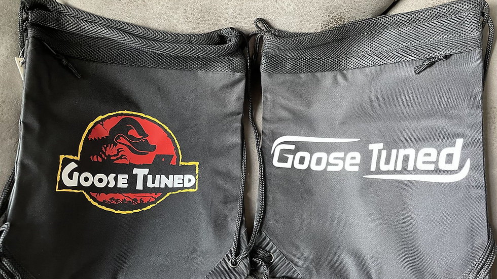 GooseTuned Drawstring Backpack