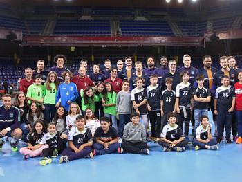 Partit del Barça d'Handbol!