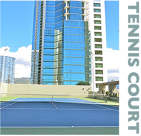 Hawaiki Tower, Tennis Court, views, private