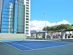 Hawaiki Tower, Tennis Court, views, recreation