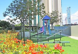 Level 6 Recreation Deck, Playground, Hawaiki Tower, Oahu, Hawaii