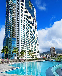 Infinity Pool, Hawaiki Tower, Hawaii, Oahu