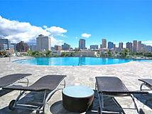Hawaiki Tower, Infinity Pool, Views, ocean, City, Mountains