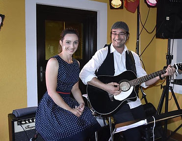Avelyn Francis und Gilles Pugibt als Duo Marmelade