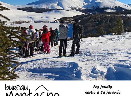 Programme des sorties montagne à Murol