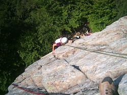 Escalade roche tuilière