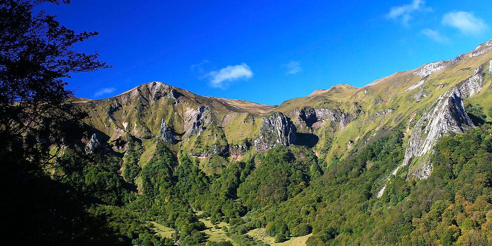 Les crêtes de la Vallée de Chaudefour
