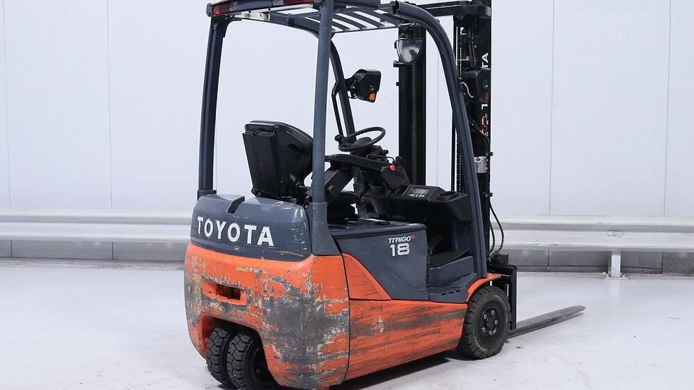 Empilhador elétrico Toyota FB18T 2011 ano
