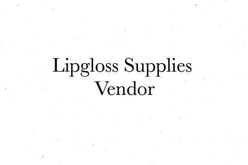 Lipgloss Supplies Vendor
