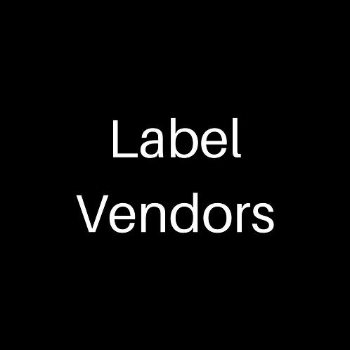 Lip Gloss Label Vendors