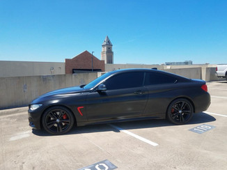 BMW 435 Washed
