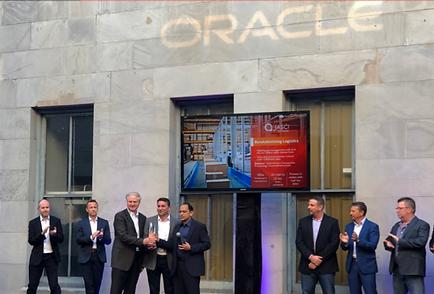 Oracle cloud innovation award JASCI Soft
