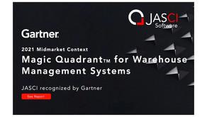 Gartner® Names JASCI in 2021 Magic Quadrant™ for Warehouse Management Systems